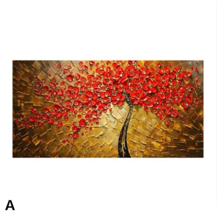 油絵 絵画 手描き 肉筆 寝室 玄関 飾り 壁掛けインテリア美術品  風景絵 木の絵 印象派 forestjapan 02