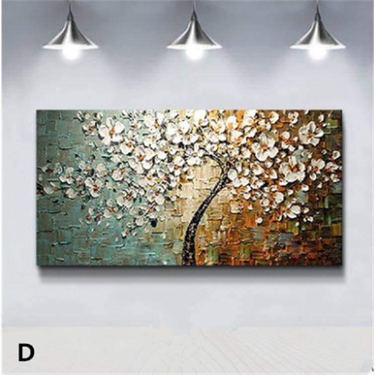 油絵 絵画 手描き 肉筆 寝室 玄関 飾り 壁掛けインテリア美術品  風景絵 木の絵 印象派 forestjapan 05