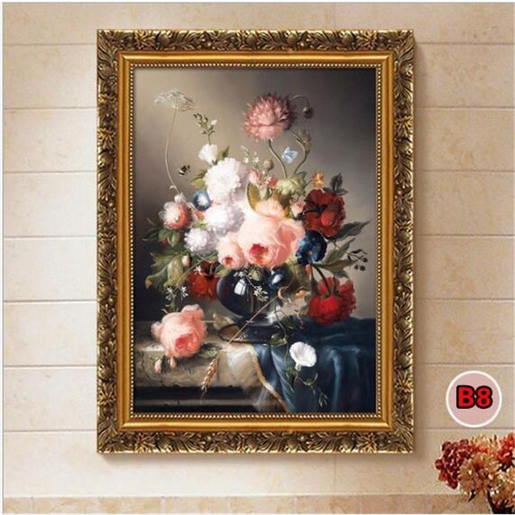 絵画 油絵 壁掛け 花の絵画 アートパネル 額つき インテリア 美術品 寝室 玄関飾り  撥水 縁起物 北欧風 forestjapan 08