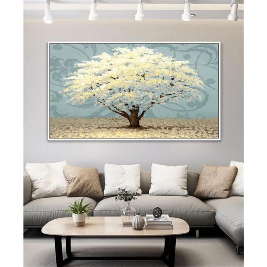 絵画 油絵 壁掛け アートパネル 額つき インテリア 美術品 寝室 玄関飾り  撥水 縁起物 北欧風 forestjapan 09