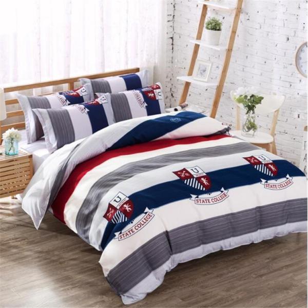 シーツ セット 枕カバー  布団カバー ベッド用品 寝具 4点 セットセミダブル シングル 綿 コットン |forestjapan|03