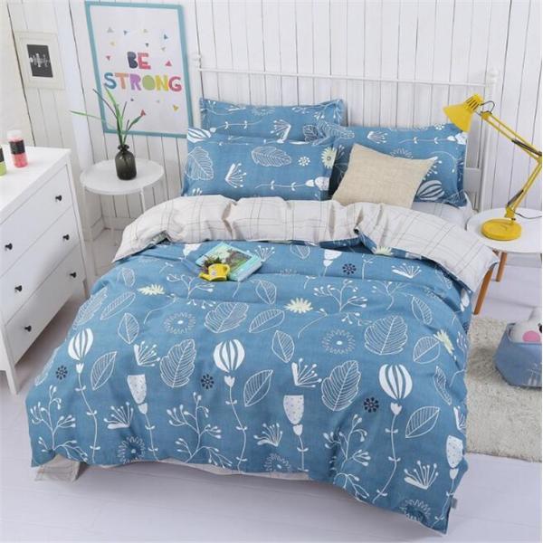 シーツ セット 枕カバー  布団カバー ベッド用品 寝具 4点 セットセミダブル シングル 綿 コットン |forestjapan|05