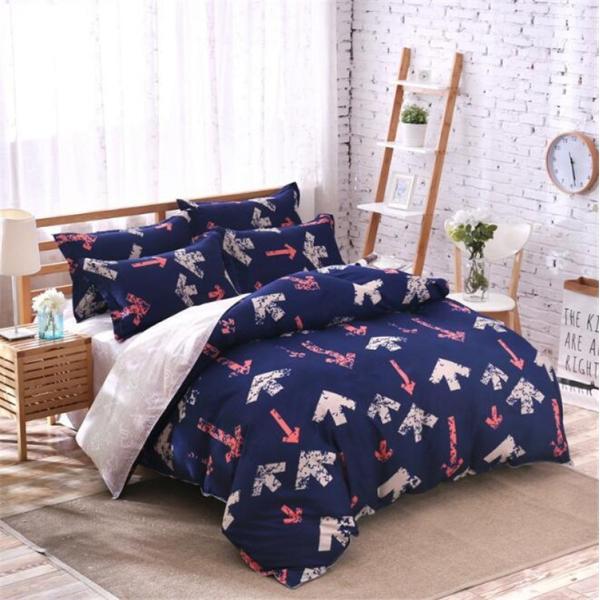 シーツ セット 枕カバー  布団カバー ベッド用品 寝具 4点 セットセミダブル シングル 綿 コットン |forestjapan|06