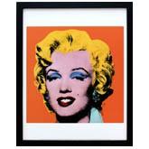 アンディ・ウォーホル「マリリン・モンロー(ショットオレンジ)1964」