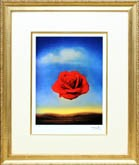 サルバドール・ダリ「瞑想するバラ」