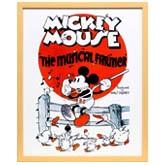 ディズニー「ミッキー/陽気な農夫」