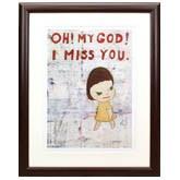 奈良美智「Oh! My God! I Miss You!」