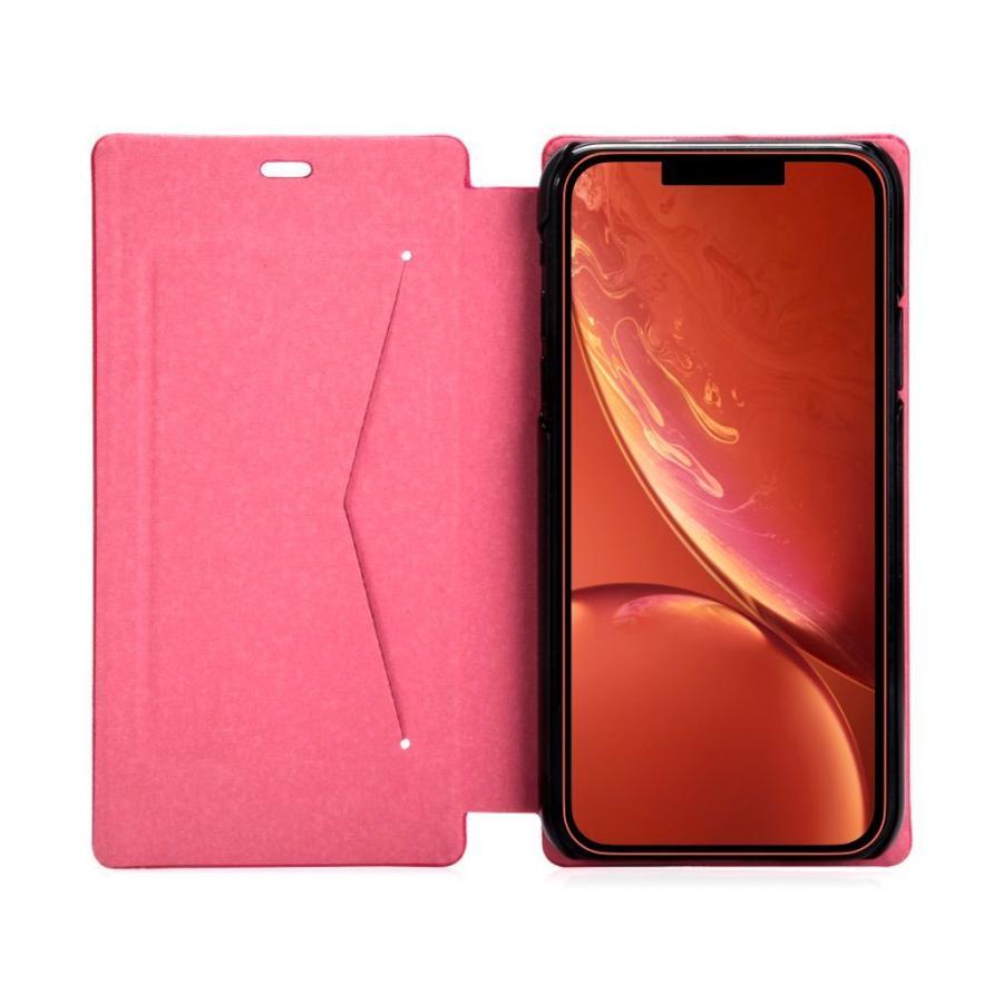 iPhone XR ケース 手帳型 iPhoneXR 耐衝撃 スタンド機能 薄型 カード収納 Qi ワイヤレス充電対応ケース おしゃれ ポイント消化 送料無 40s|forties|22