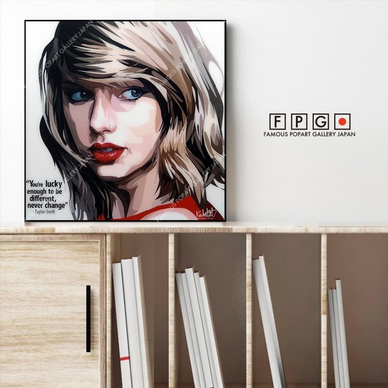ポップアートパネル,ポップアートフレーム,Keetatat Sitthiket,キータタット シティケット,Taylor Swift,テイラー・スウィフト