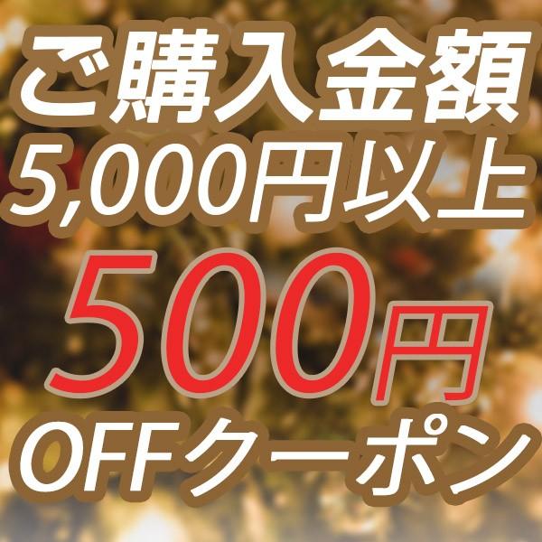 【ステッカー付き】クリスマス特別クーポン5,000円以上500円OFF!