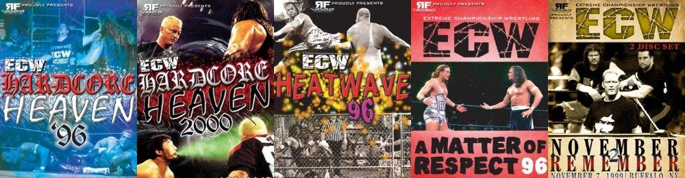 ECW 輸入盤DVD
