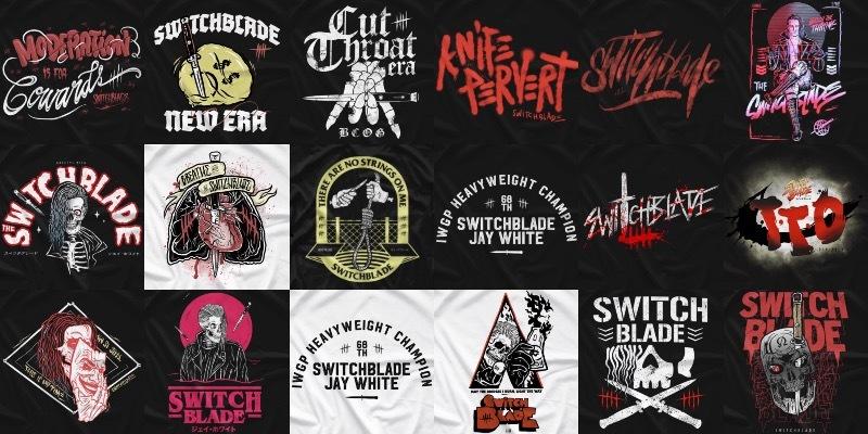 Switchblade Jay White Tシャツ