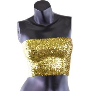 スパンコール チューブトップ Sサイズ Mサイズ 全14色 ショートタイプ ダンス 衣装 トップス コスプレ トップス ダンス衣装 ベリーダンス ダンス ┃|freedom-web|09