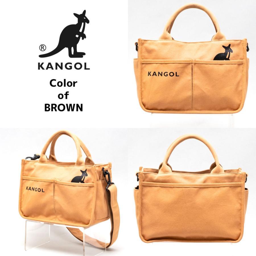 キャンバスミニトートバッグ ショルダーバッグ ハンドバッグ KANGOL 帆布生地 カンゴール(250-1493) 全4色 freesebe 09