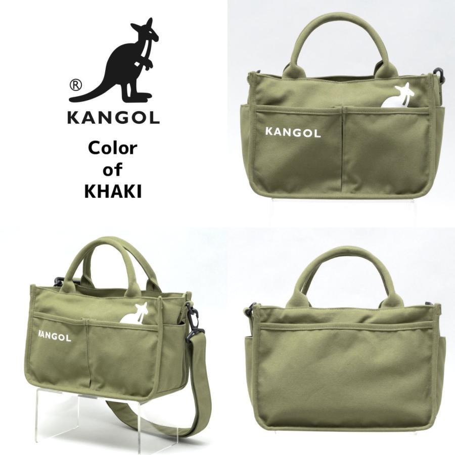 キャンバスミニトートバッグ ショルダーバッグ ハンドバッグ KANGOL 帆布生地 カンゴール(250-1493) 全4色 freesebe 11