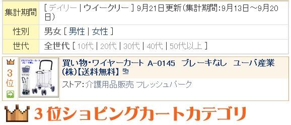 ランク入り!ワイヤーカートA-0145