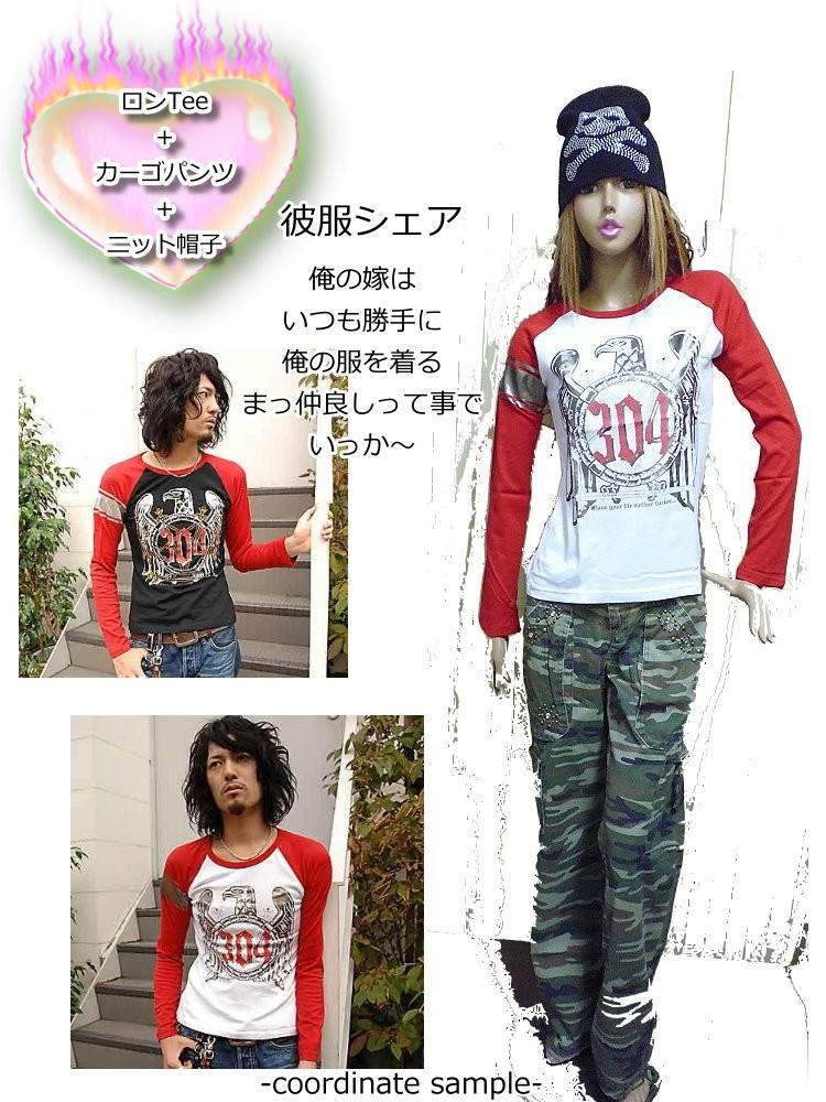HPP,イーグル柄Tシャツ