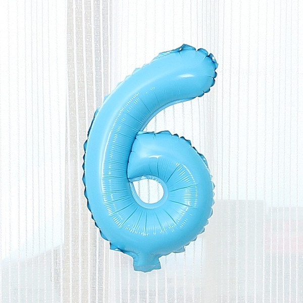数字 風船 小さい 誕生日 パステルブルー ナンバーバルーン 40cm 風船 飾り付け サプライズ  プレゼント 安い おもちゃ ぺたんこ配送|frontierjapan|10