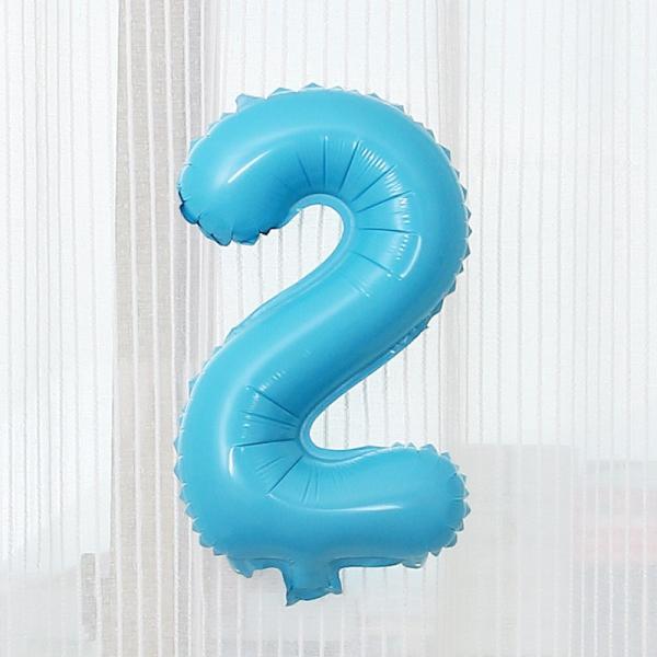 数字 風船 小さい 誕生日 パステルブルー ナンバーバルーン 40cm 風船 飾り付け サプライズ  プレゼント 安い おもちゃ ぺたんこ配送|frontierjapan|06
