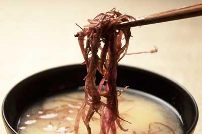 布海苔の味噌汁