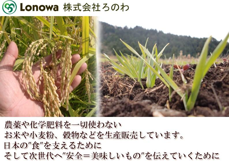 無農薬米 株式会社のろわ
