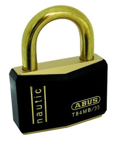 ABUS(アバス) 南京錠 BPT-84-35 35mm 3本キー 00... - シャイニングストア