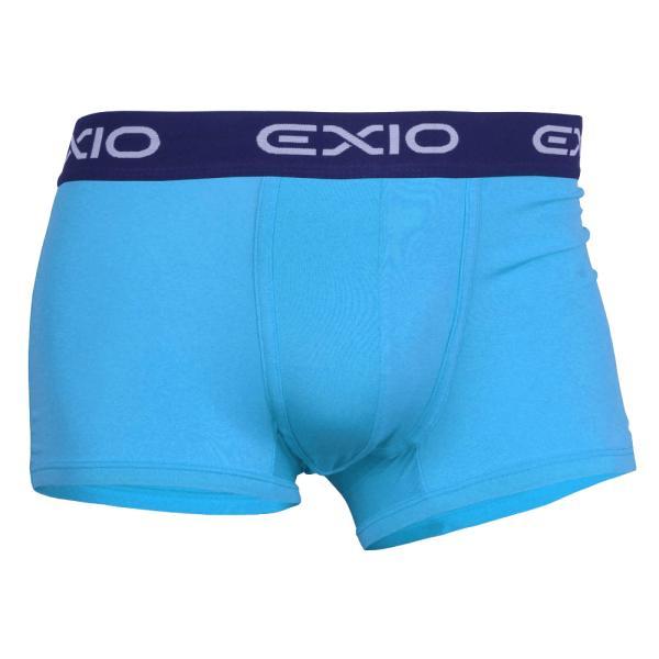 ボクサーパンツ メンズ セット 単色 4枚 ブランド アンダーウェア おしゃれ ローライズ パンツ お試し ポイント消化 送料無料 4サイズ 全8色 EXIO エクシオ fuerzajapan 23