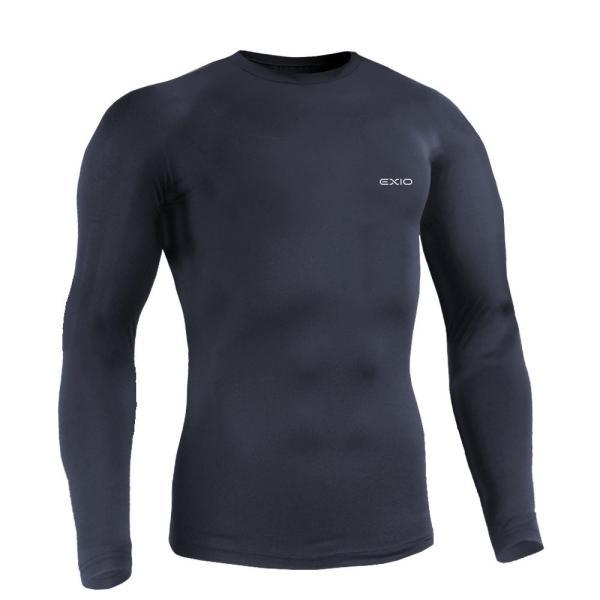 防寒インナー アンダーシャツ 長袖 丸首 ハイネック 防寒 タイツ 前開き 前閉じ 各種 メンズ 発熱 防寒着 アンダーウェア コンプレッションウェア EXIO エクシオ|fuerzajapan|21