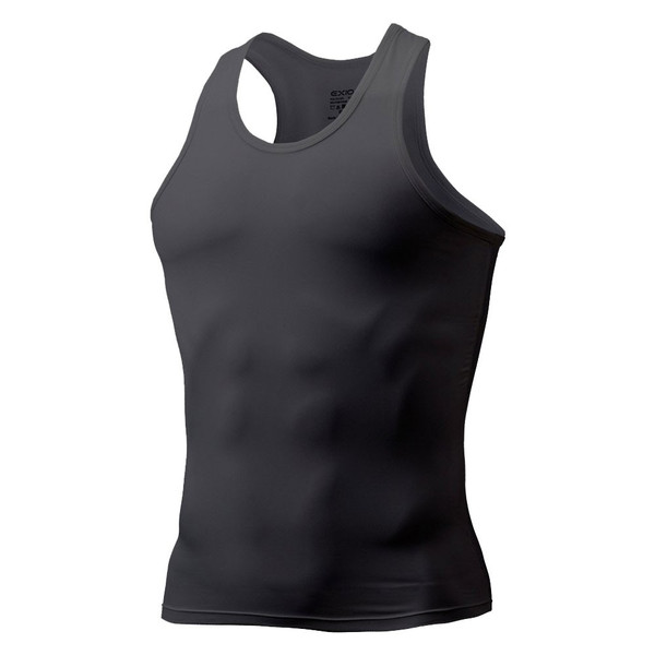 タンクトップ メンズ コンプレッションウェア コンプレッションインナー トレーニング スポーツ アンダーシャツ アンダーウェア インナー 全9色 EXIO エクシオ|fuerzajapan|21
