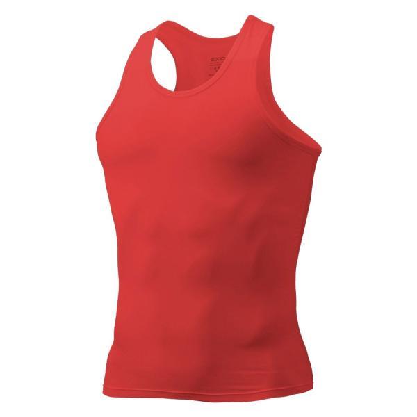 タンクトップ メンズ コンプレッションウェア コンプレッションインナー トレーニング スポーツ アンダーシャツ アンダーウェア インナー 全9色 EXIO エクシオ|fuerzajapan|26