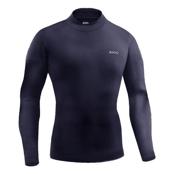 防寒インナー アンダーシャツ 長袖 丸首 ハイネック 防寒 タイツ 前開き 前閉じ 各種 メンズ 発熱 防寒着 アンダーウェア コンプレッションウェア EXIO エクシオ|fuerzajapan|25