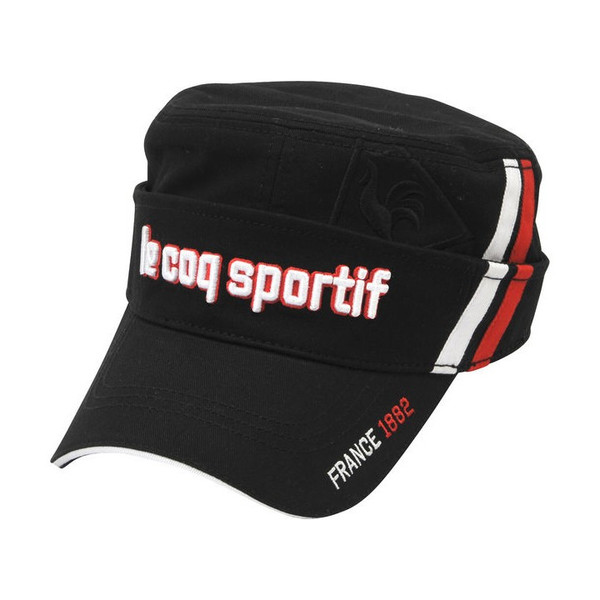 le coq sportif ルコック ワークキャップ/サンバイザー 2wayタイプ QGBMJC01 帽子「メール便不可」「あすつく対応」|fujico|06