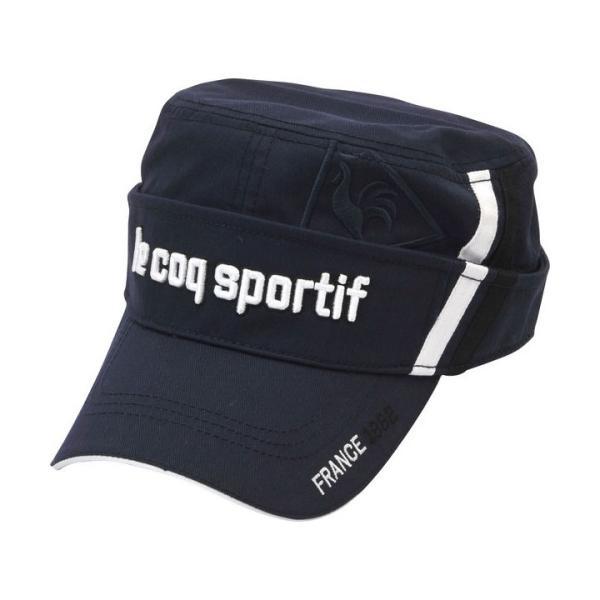 le coq sportif ルコック ワークキャップ/サンバイザー 2wayタイプ QGBMJC01 帽子「メール便不可」「あすつく対応」|fujico|07