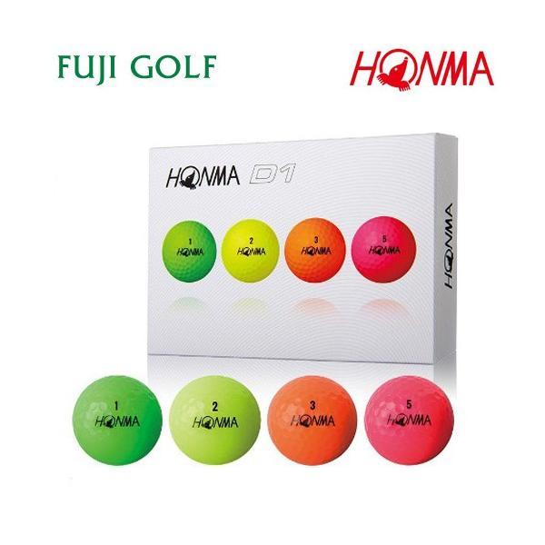 ゴルフボール 1ダース 本間ゴルフ D1 HONMA GOLF NEW D1 2018年モデル|fujigolf-kyoto|13