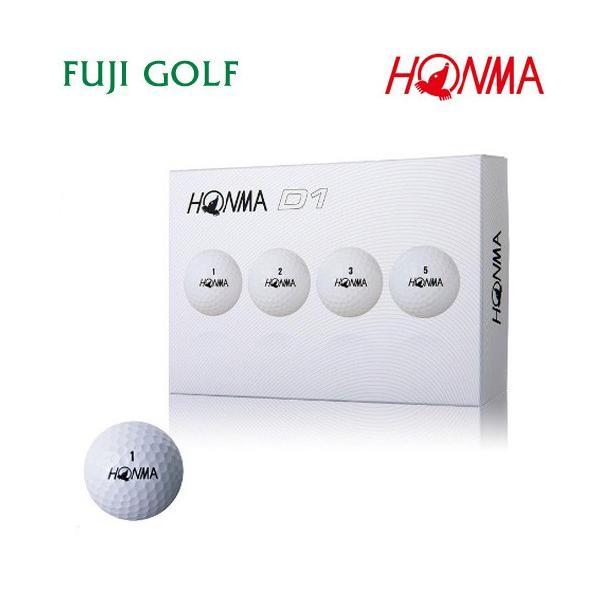 ゴルフボール 1ダース 本間ゴルフ D1 HONMA GOLF NEW D1 2018年モデル|fujigolf-kyoto|11