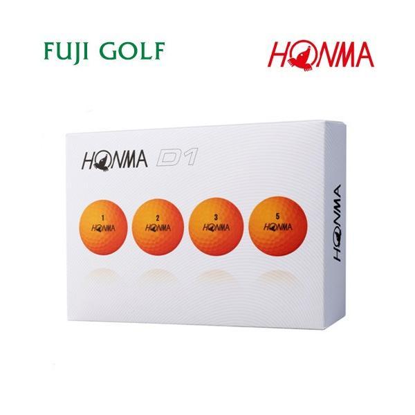ゴルフボール 1ダース 本間ゴルフ D1 HONMA GOLF NEW D1 2018年モデル|fujigolf-kyoto|14