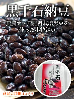 黒千石納豆