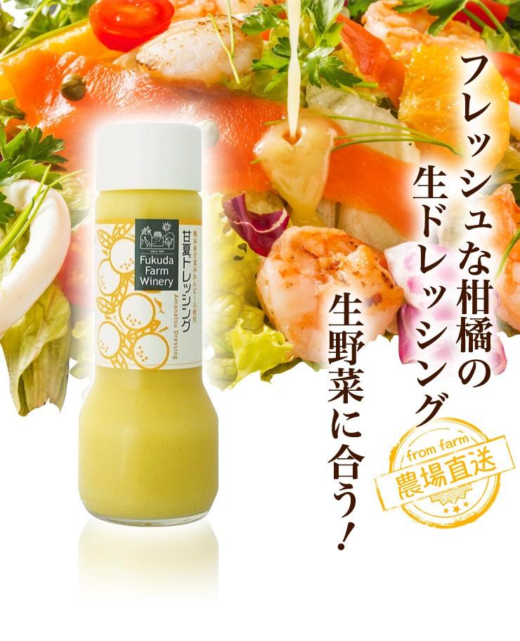 フレッシュな柑橘の生ドレッシング 生野菜に合う!