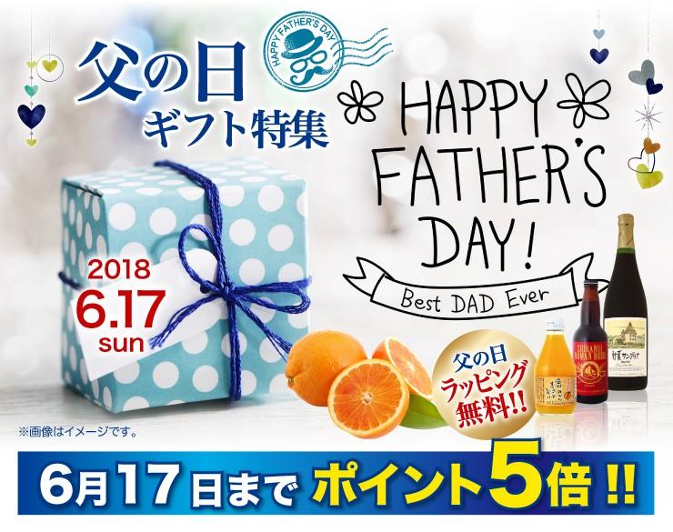 父の日ギフト特集 6月17日までポイント5倍!!