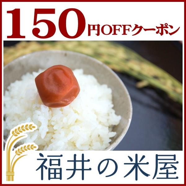 【福井の米屋】美味しいコシヒカリと福井米全品150円オフ