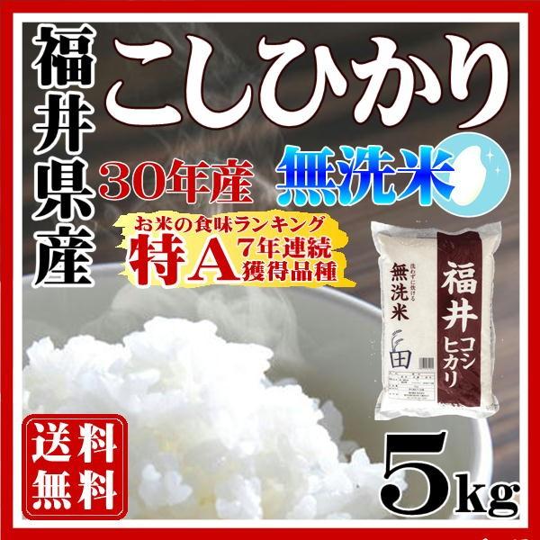 無洗米コシヒカリ5kg