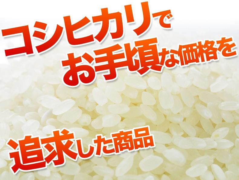 故郷コシヒカリ コシヒカリでお手頃価格を追求した商品