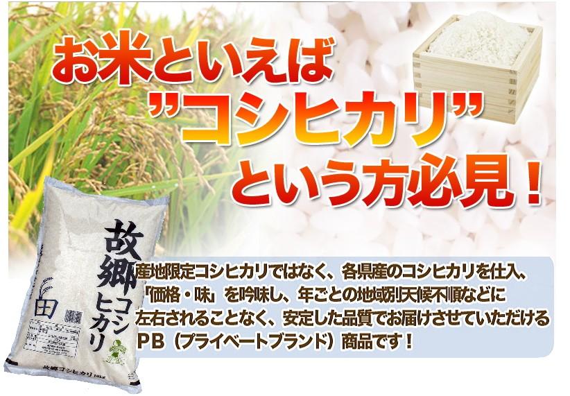 故郷コシヒカリ お米といえばコシヒカリという方必見
