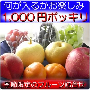 フルーツ詰合せ1,000円
