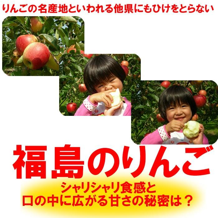 青森県や長野県のりんごよりも美味しい福島のりんご