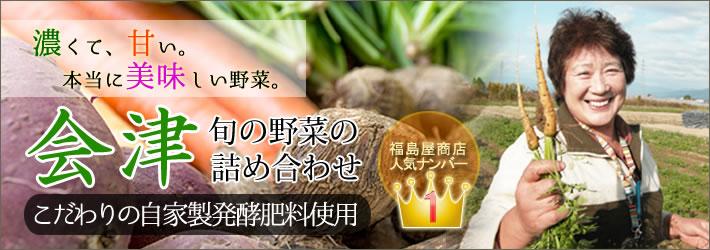 会津旬の野菜詰め合わせ