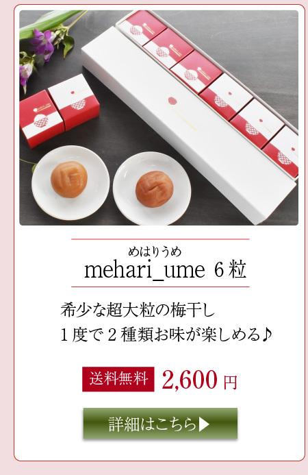 mahari_ume 6粒入り