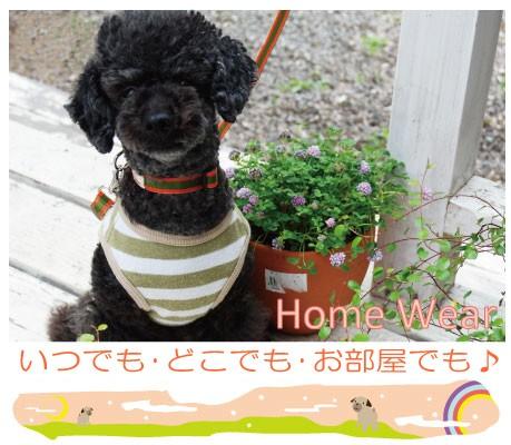 つなぎタイプの犬の服 部屋着 (ダックス〜小型犬)