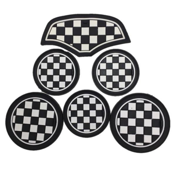 ドリンク ホルダー コースター BMW MINI F56 6枚セット アクセサリー パーツ ノンスリップマット SKYBELL|funny-store|10
