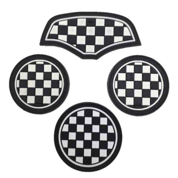 ドリンク ホルダー コースター BMW MINI F55 4枚セット アクセサリー パーツ ノンスリップマット SKYBELL funny-store 10